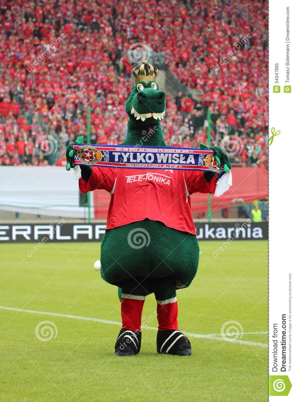 Wawel Dragon Editorial Image.