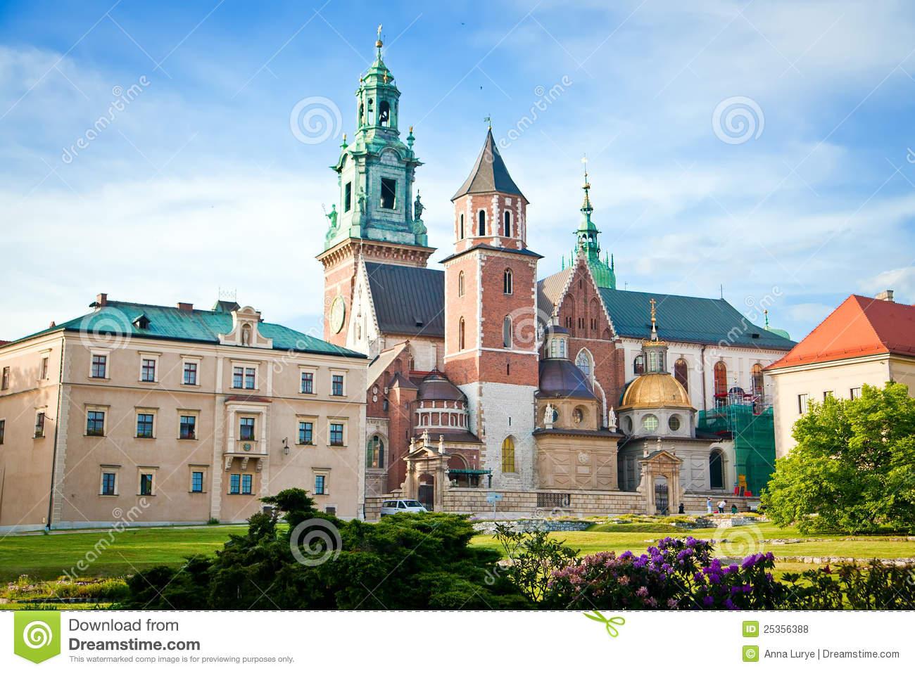 Wawel In Krakow Royalty Free Stock Photos.