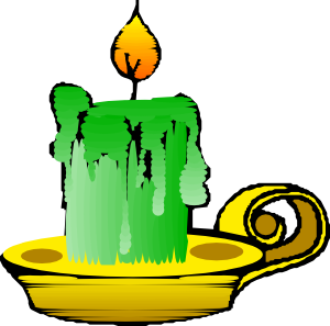 Green Candle Clip Art at Clker.com.
