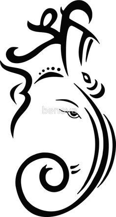 Ganesh tattoo.