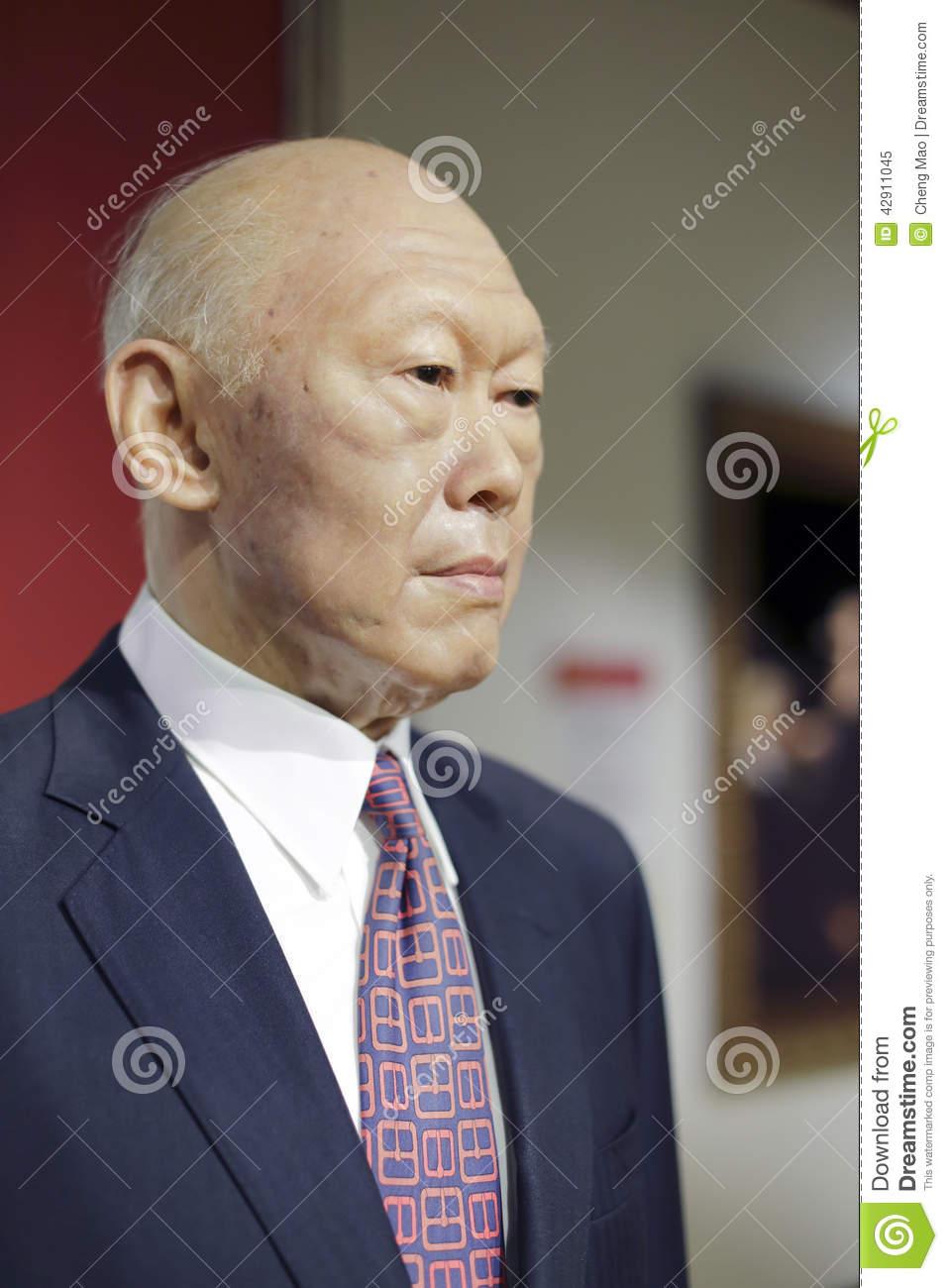 Lee Kuan Yew Editorial Image.