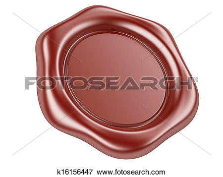 Stock Illustration of wax seal k16156447.