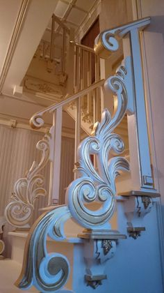 Stair Handrails ….