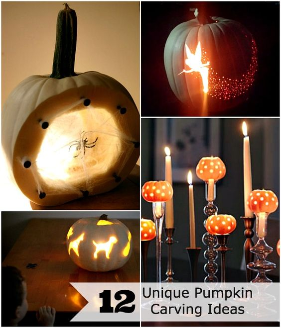 12 unique pumpkin carving ideas via the mother huddle. Love the.