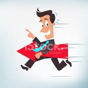 The Way Forward Business Concept premium clipart.