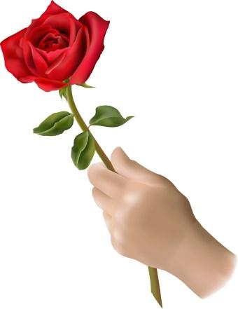 Pink Roses Clip Art Free.