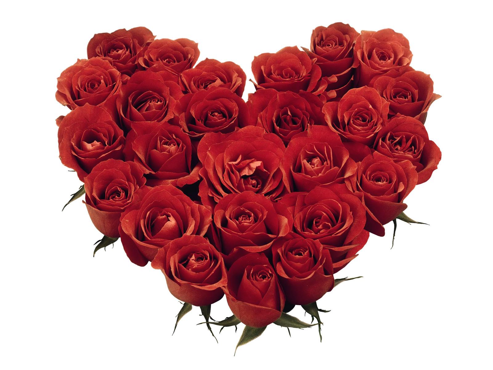 Valentine's Bouquet Roses Clipart.