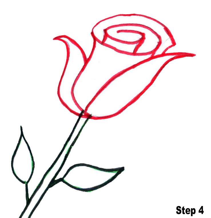 1000 Ideas About Rose Outline On Pinterest Tattoos Outline And.