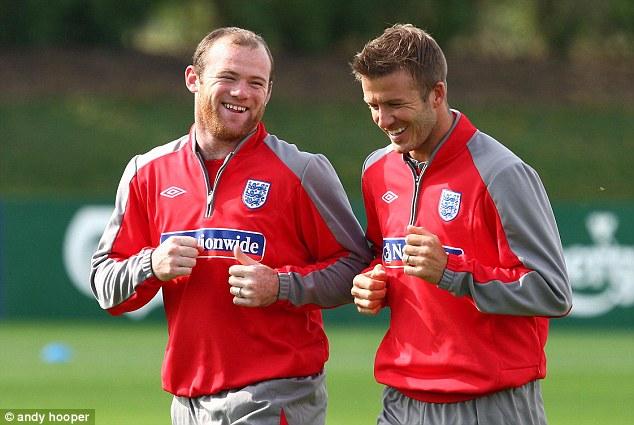 David Beckham urges Wayne Rooney to play for England 'until you.