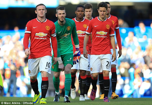 Manchester United duo Wayne Rooney and Louis van Gaal happy with.