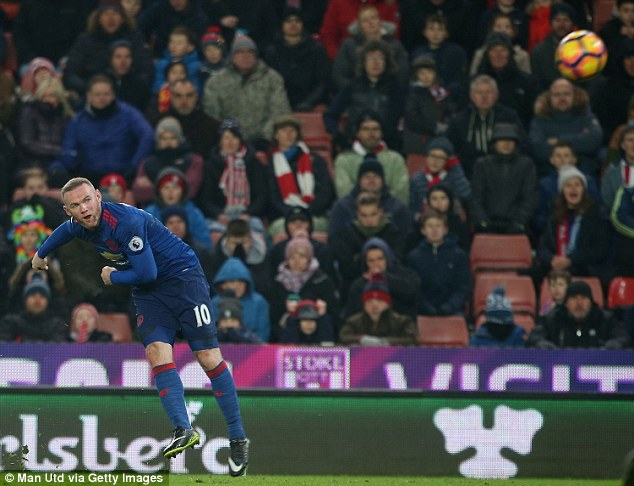 What is Wayne Rooney's best Manchester United goal?.