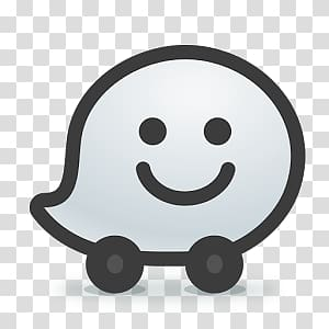 Waze transparent background PNG clipart.