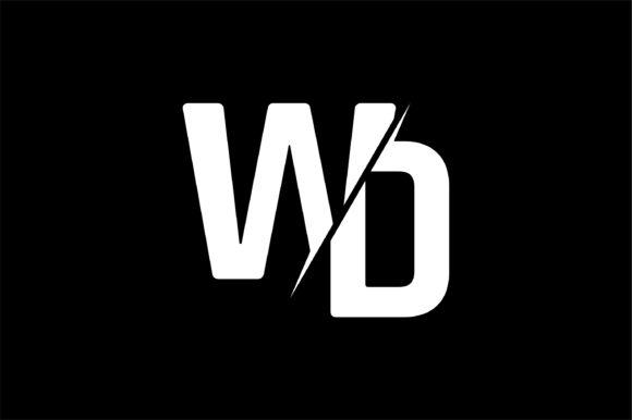 Monogram WD Logo Design.