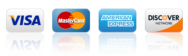 Payments: We accept COD, Credit Card, Certified or Cashiers.