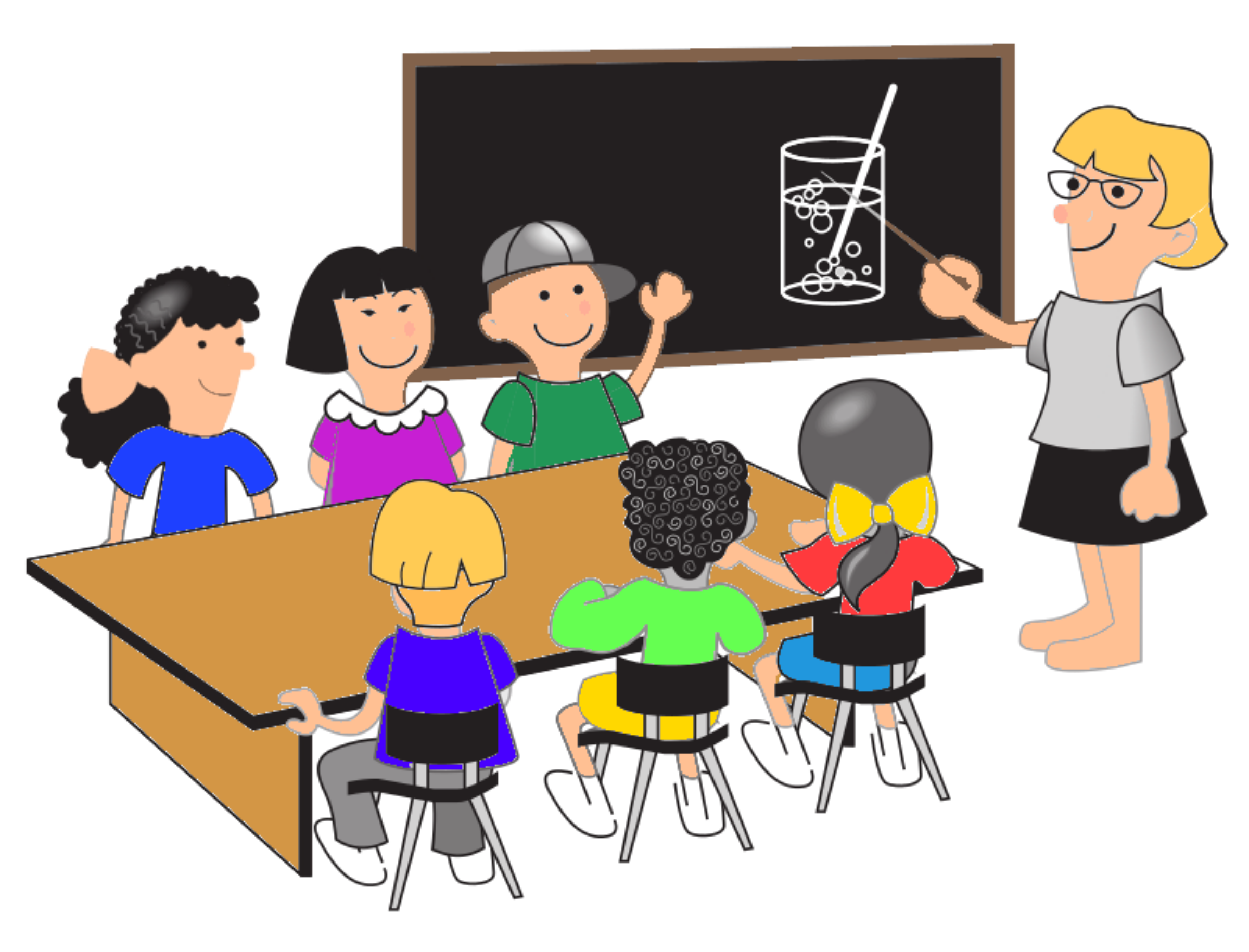 Learning clipart classroom climate, Learning classroom.