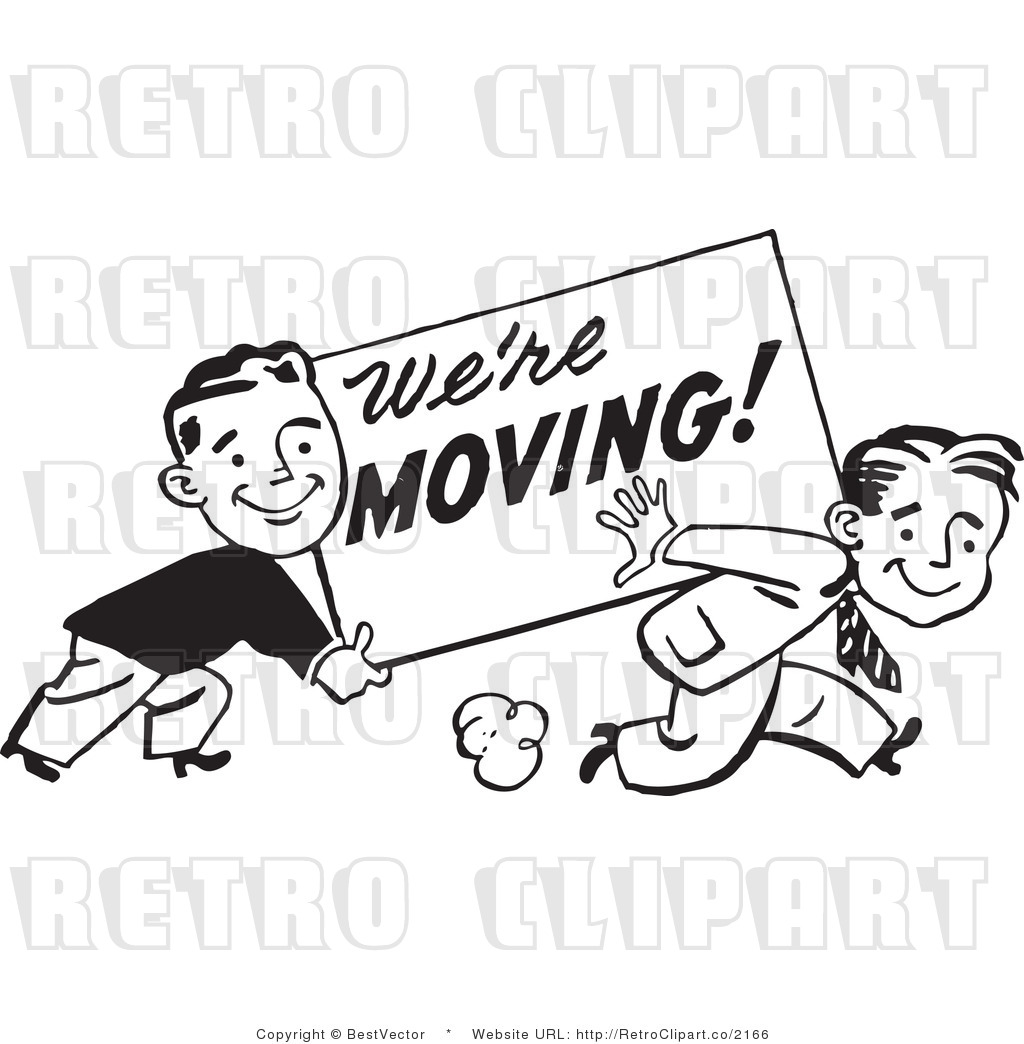 We Are Moving Clipart.