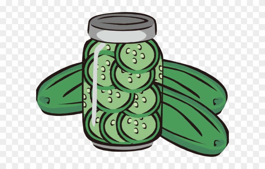 Pickles Clipart Cucumber Slice.