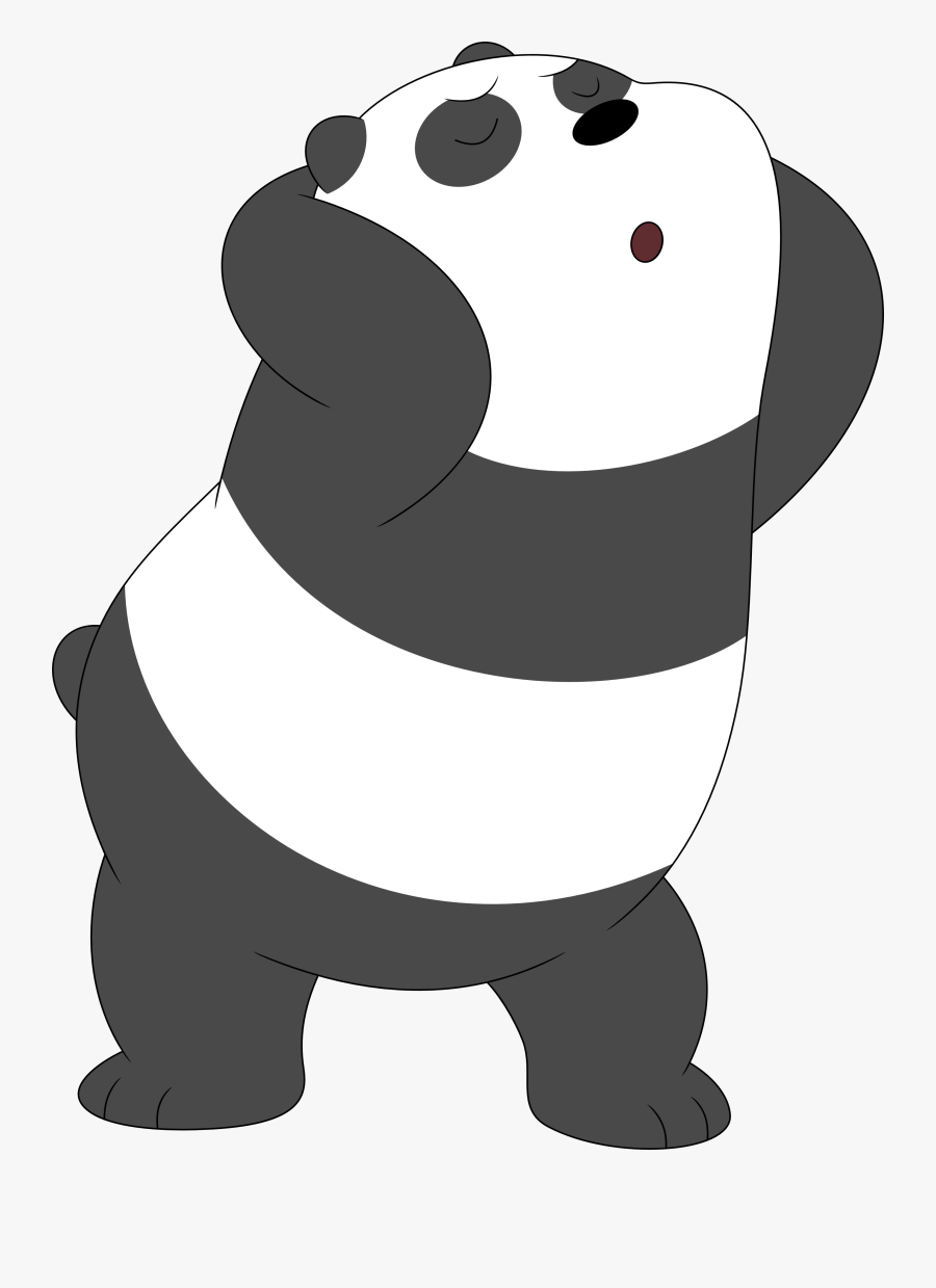 Anime Panda Png Picture Black And White.