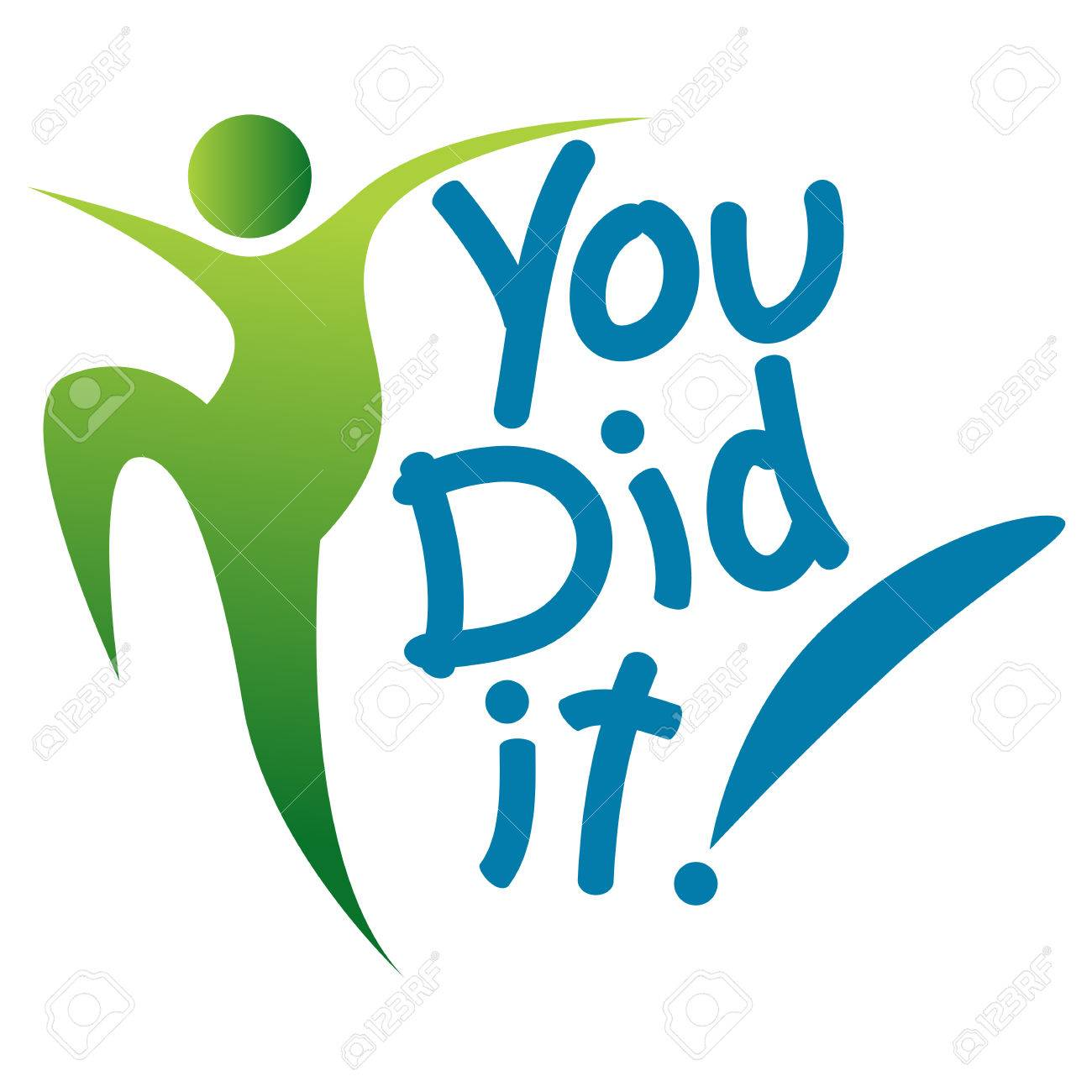 We Did It Clipart 5 » Clipart Station #476331.