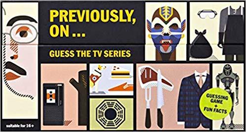 Previously, On: Guess the TV Series: Ruben Errejon, Cajsa.