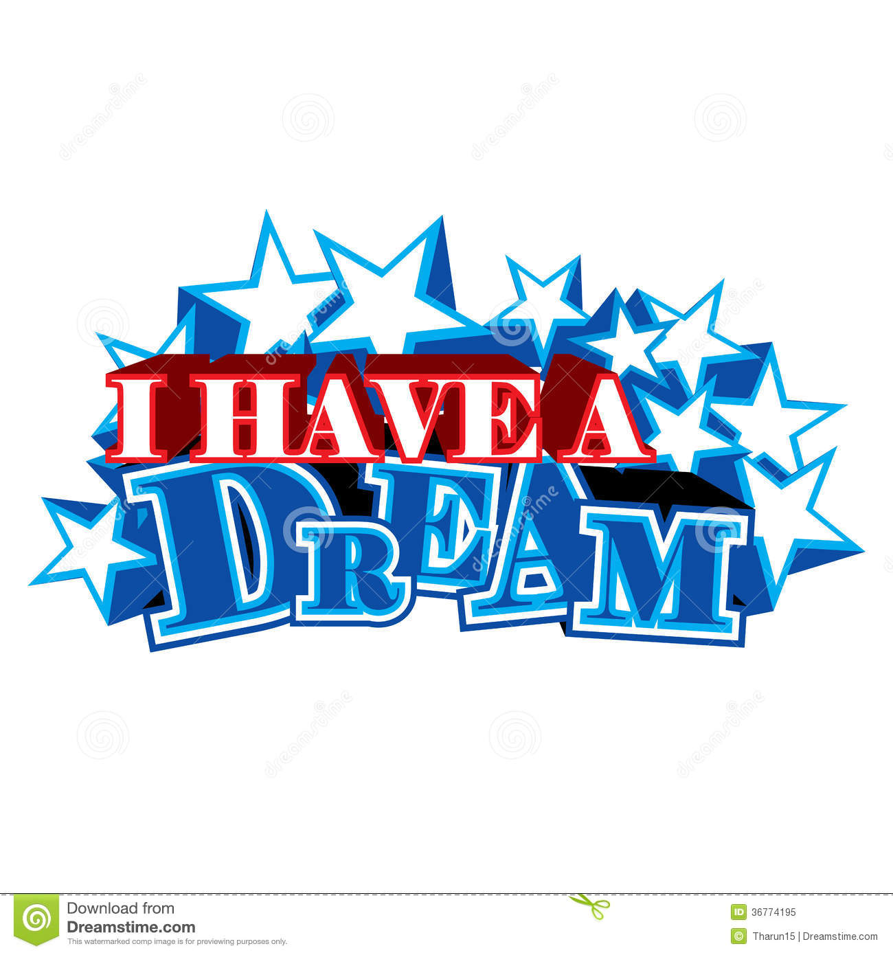 2361 Dream free clipart.
