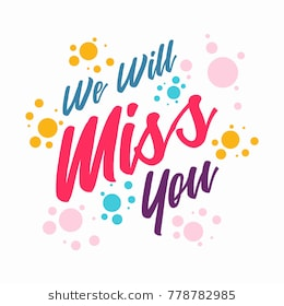 We will miss you clipart 2 » Clipart Station.