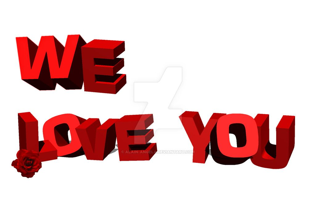 We love you clipart 6 » Clipart Station.
