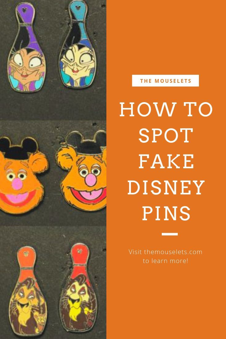 How to Spot Fake Disney Pins Online and in the Parks.