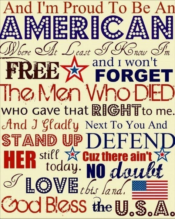 We Love America And We Love Our Veterans Past And Present.