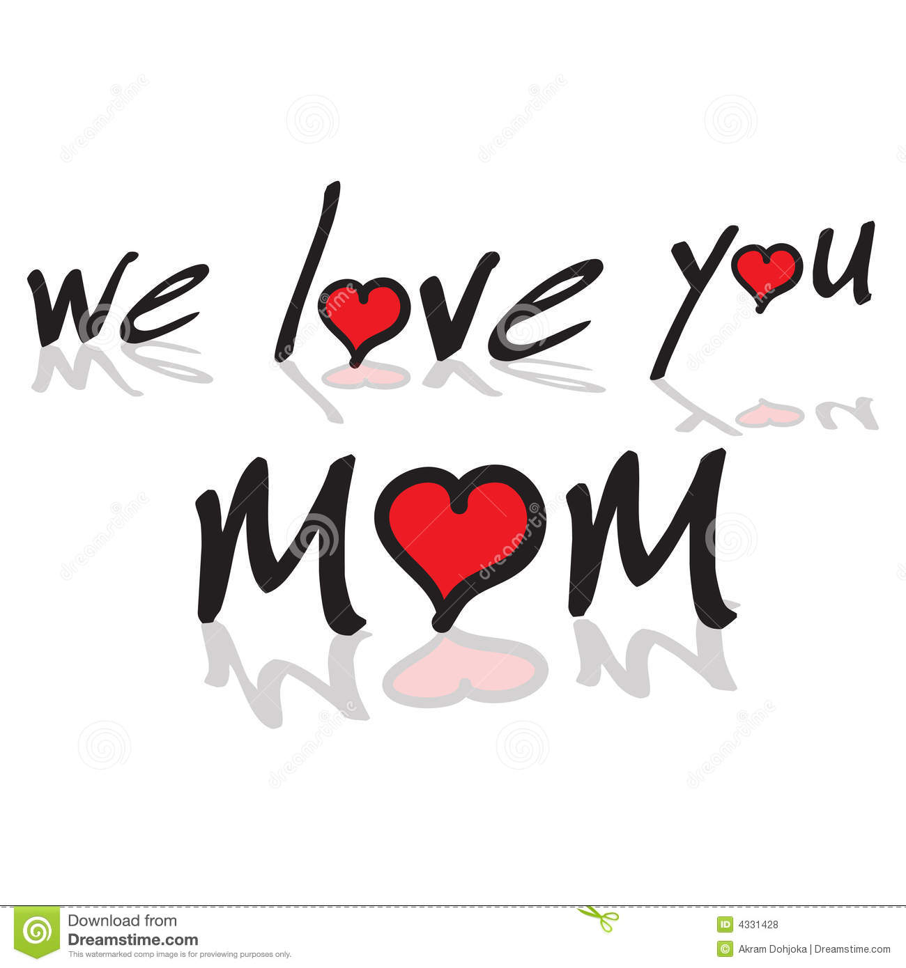 We Love You Mom Clipart Clipart Suggest.