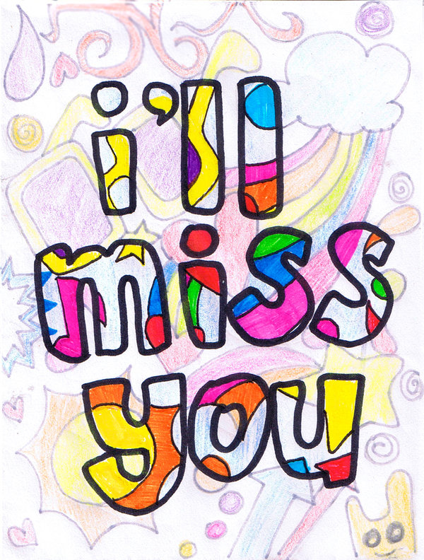 We Will Miss You We Clipart Free Clipart Image.