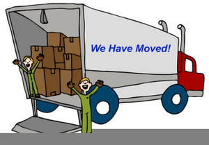 We Are Moving Office Clipart.