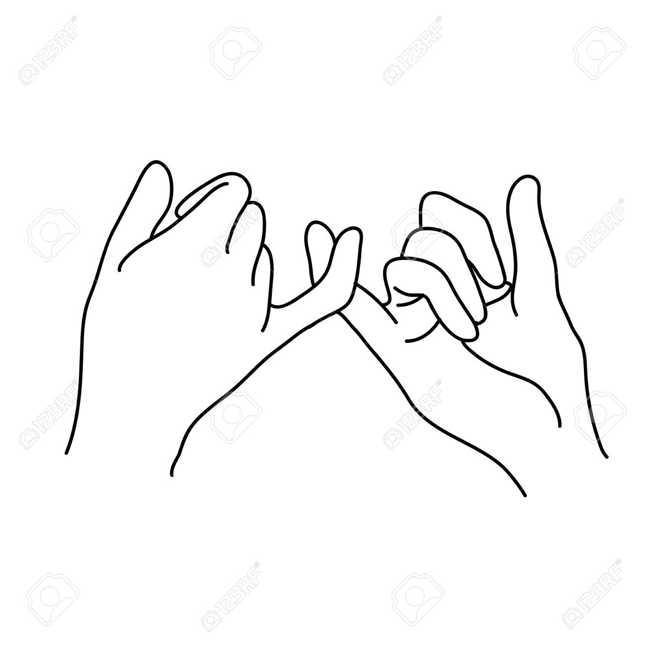 Pinky Promise Clipart & Free Pinky Promise Clipart.png.