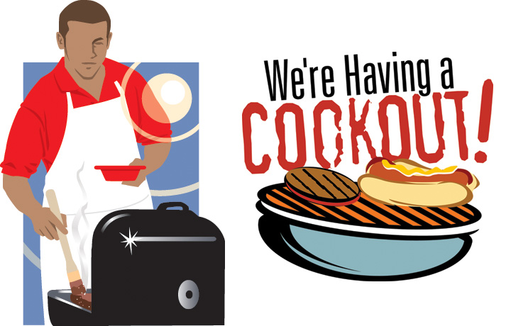 Cookout clipart college, Cookout college Transparent FREE.