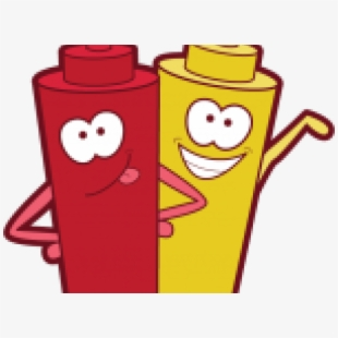 Cookout Clipart Mustard Ketchup.