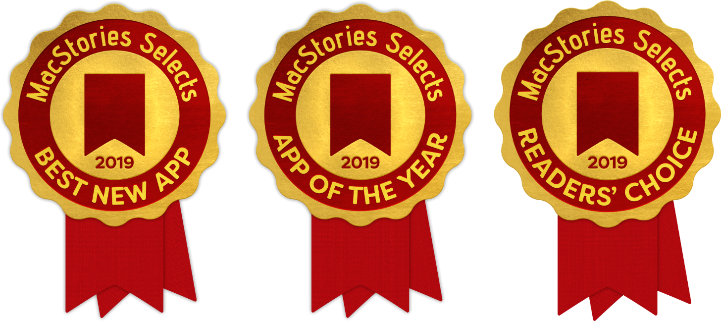 The MacStories Selects Awards Are Just Around the Corner.