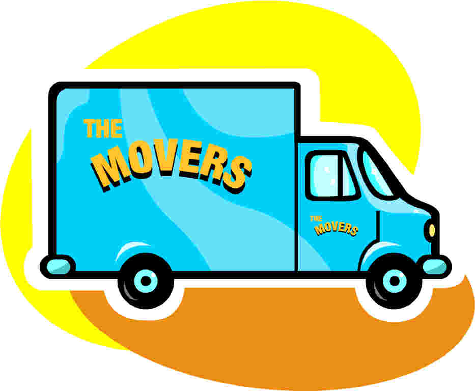 Moving Sale Clipart.