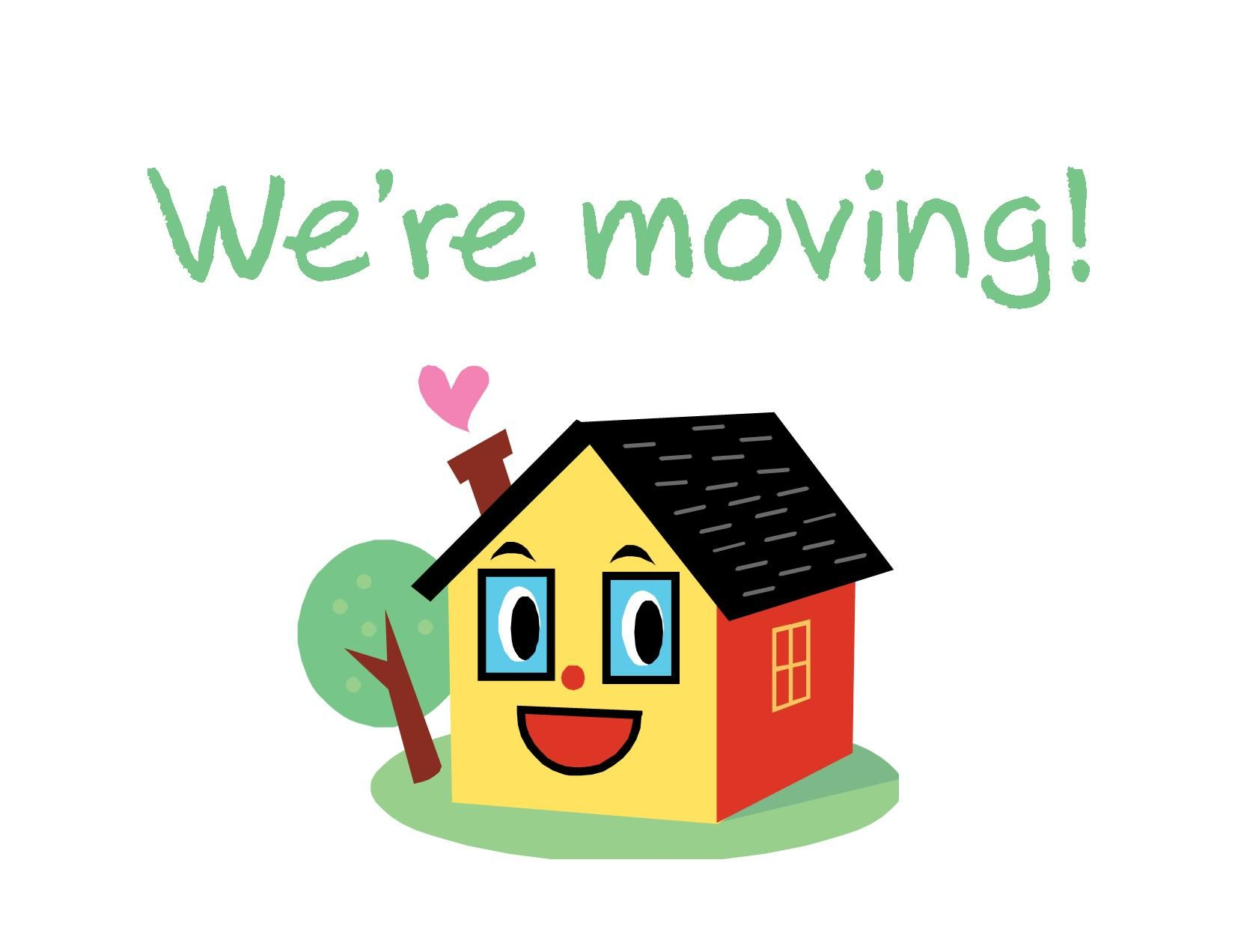 Moving House Clipart.