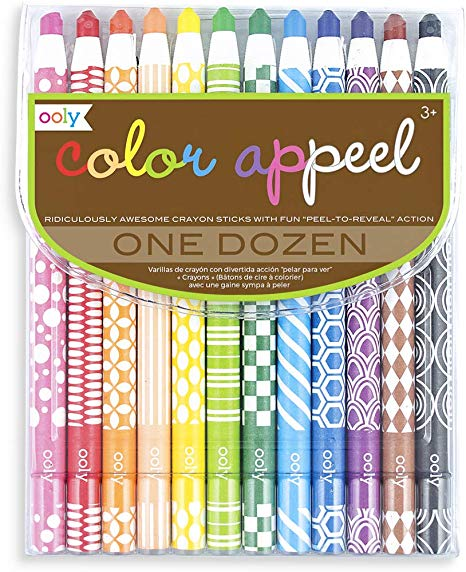 Ooly Color Appeel Crayon Sticks.