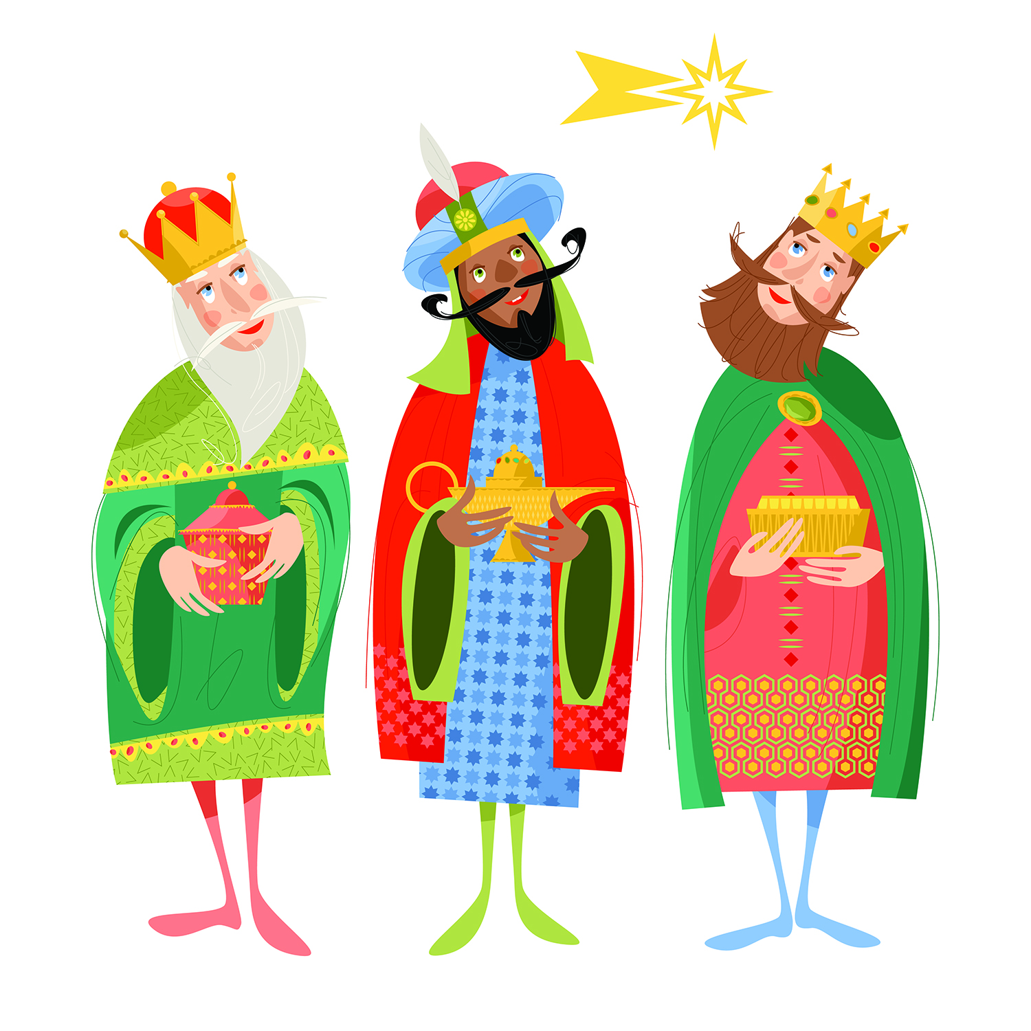 We Three Kings.