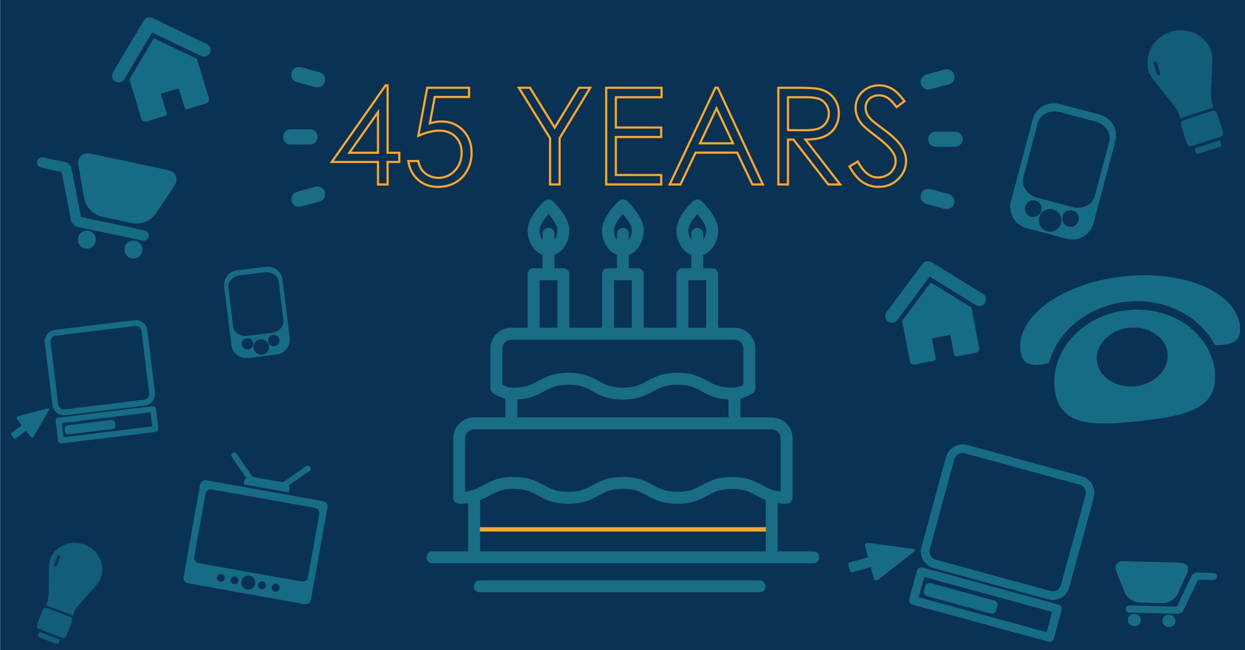 Look How Far We\'ve Come: The DRG Celebrates Turning 45.