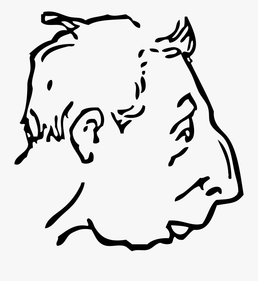 Weak Chin Cartoon , Free Transparent Clipart.
