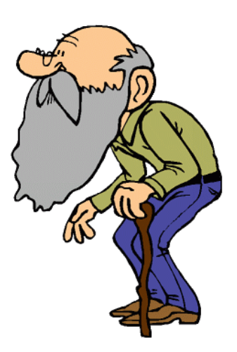 3240 Old Man free clipart.