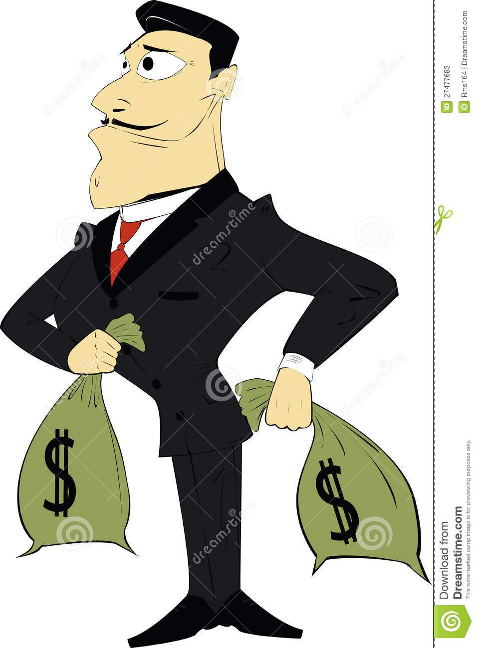 Wealthy Man Clipart.