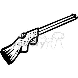black and white shotgun clipart. Royalty.