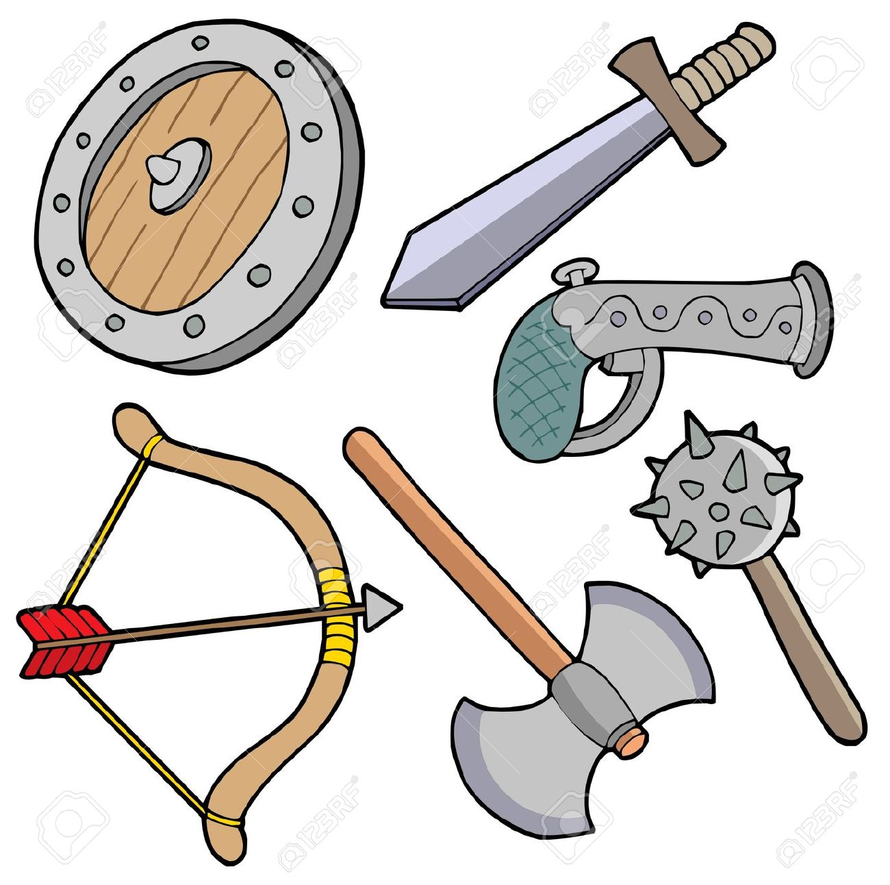 Weapons Clipart & Look At Clip Art Images.