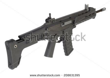 Machine Gun Isolated On White Toy Stock Photo 99699314.