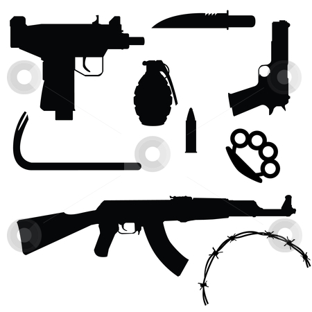 37+ Weapons Clipart.