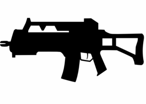 Assault Weapon Clip Art at Clker.com.