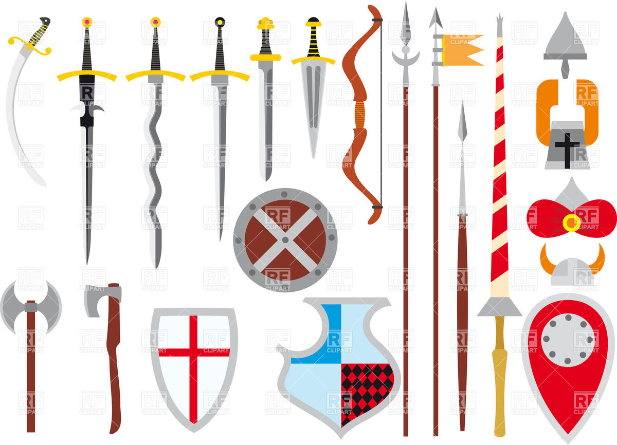 Free clip art weapons.